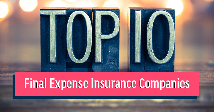 top 10 final expense life insurance companies